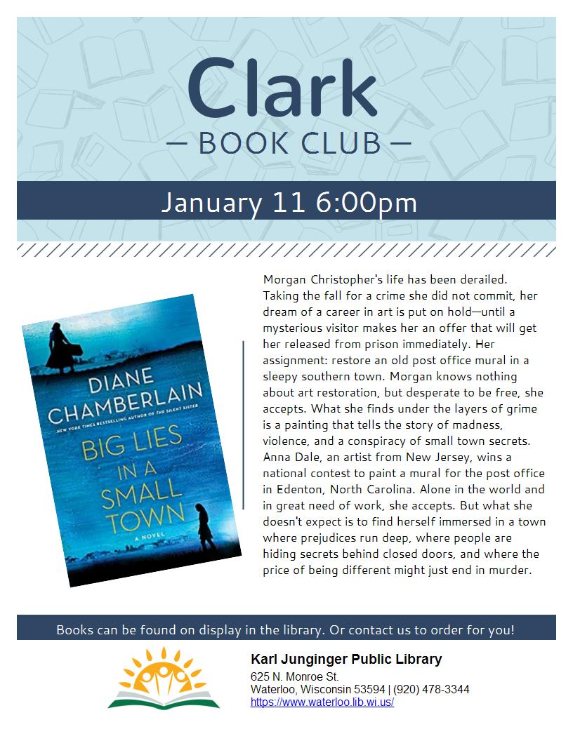 Clark Book Club Dec