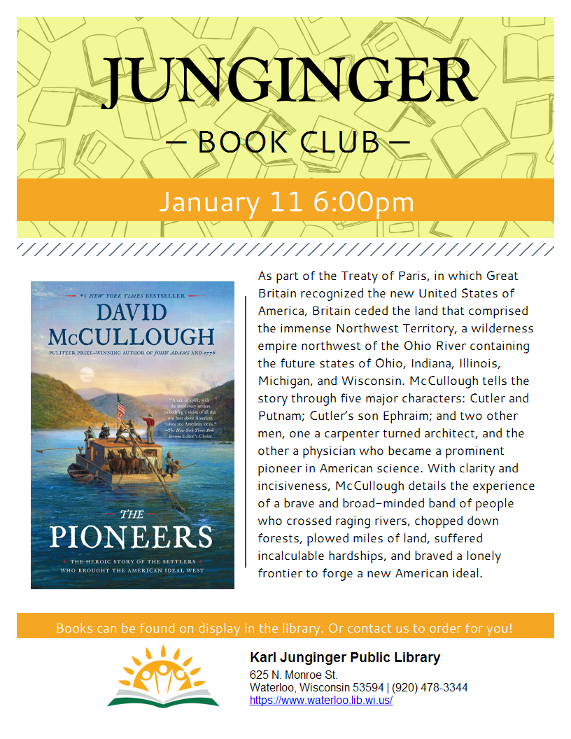 Junginger Book Club Dec