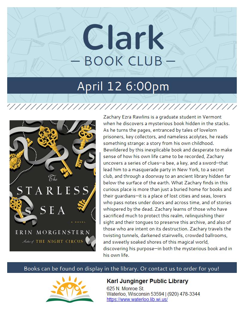 Clark Book Club