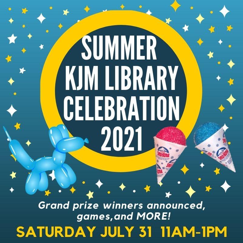 SummerKJM Library Party2021