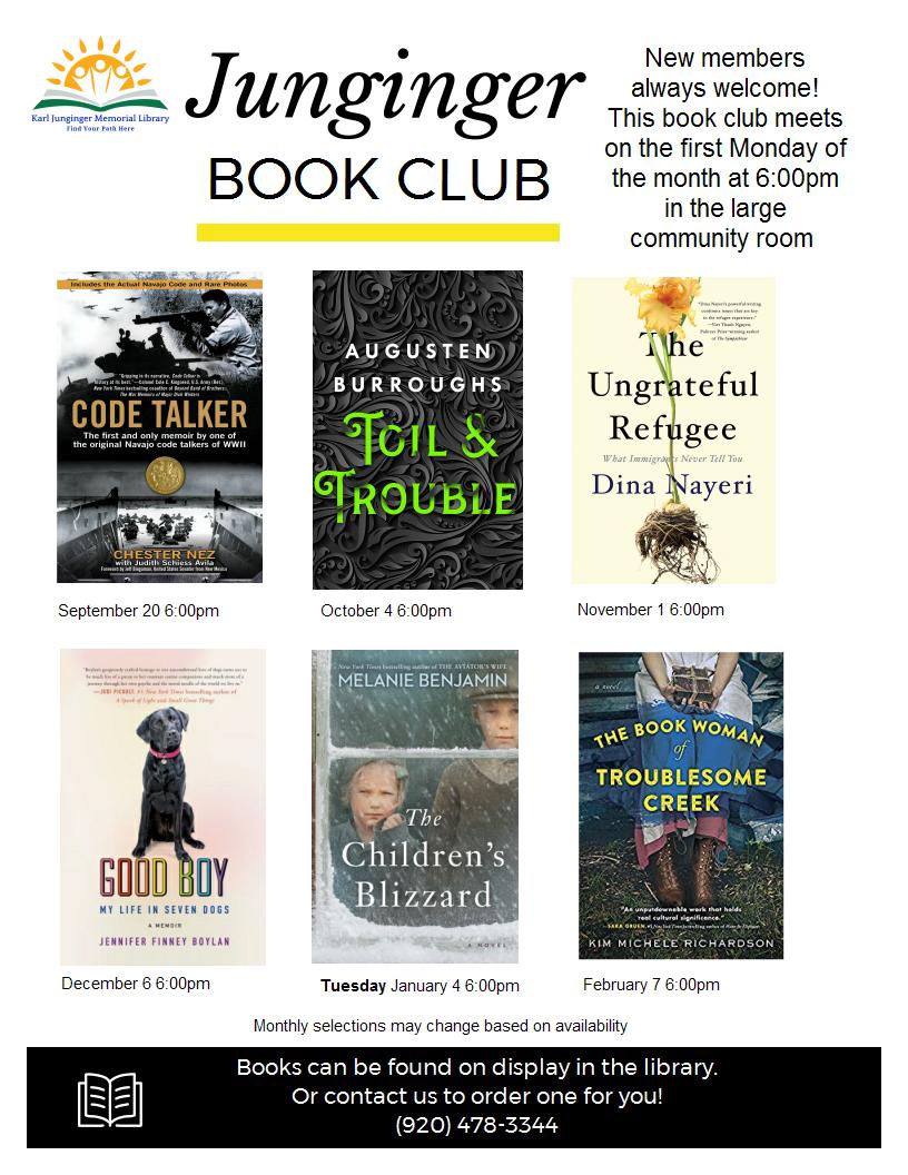 Junginger Book Club